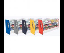 Balcão Refrigerado 1,50mts Premium 02 Placas Frias Vidro Semi Curvo PoloFrio 3103