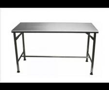 Mesa em aço Inox Contraventada  1,50 x 0,70 x 0,85 EUROFORMAS 003022
