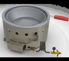 Fritador ( Tacho ) à Gás 01 Cesto 07 litros Progás PR-70G