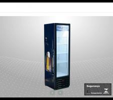 Cervejeiro Slim Porta de Vidro 370 Litros Polofrio 2403