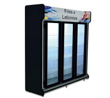 Expositor Auto Serviço Linha Premium 2,00mts 03 Portas POLOFRIO 2204