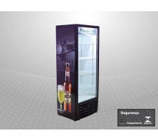 Cervejeiro Porta de Vidro 450 Litros Polofrio 2406