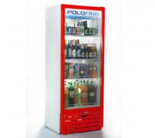 Refrigerador Vertical 450L Porta Vidro Polofrio 2405