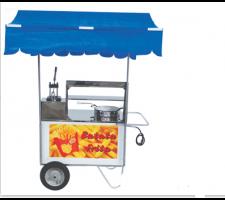Carrinho de Batata frita com Cobertura Alsa C.B.F.1