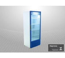 Refrigerador Vertical 450L Porta Vidro Polofrio 2404