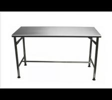Mesa em aço Inox Contraventada  1,20 x 0,70 x 0,85 EUROFORMAS 003021
